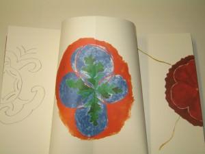 Edition, Beater Terfloth, Kuenstlerbuch, Detail